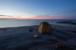 Sunset on Håkanskär, Stockholm northern archipelago.