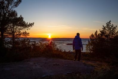 Solnedgång vid Inre Håkanskär