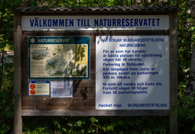 Själbottna och Östra Lagnö Naturreservat, Stockholms skärgård