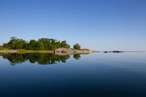 Kavlugnt hav i Kallskärs skärgård, Stockholms skärgård