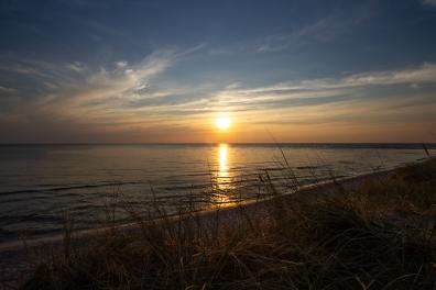 Solnedgång, Gotska Sandön