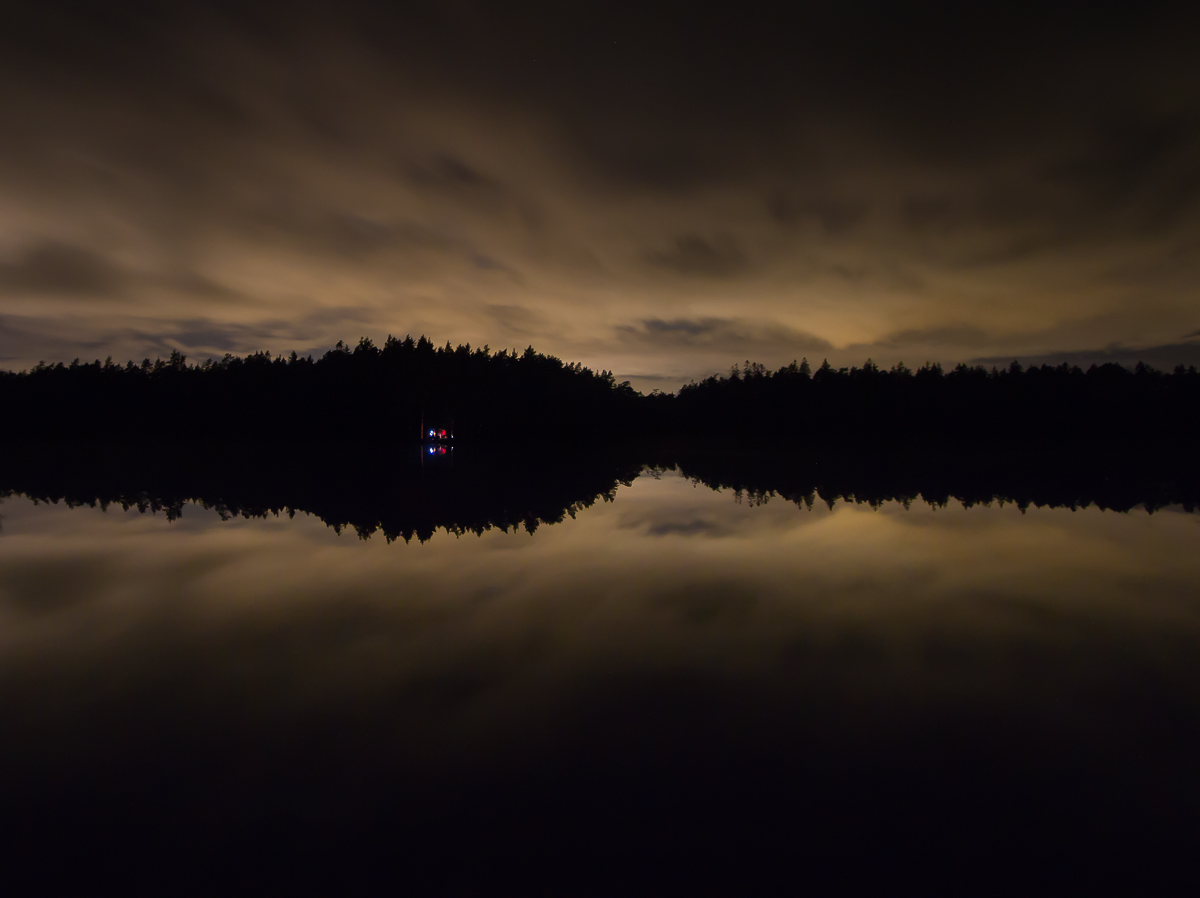 copyright goran pehrson-tyresta-national park-forest-silhouette-dramatic sky-night