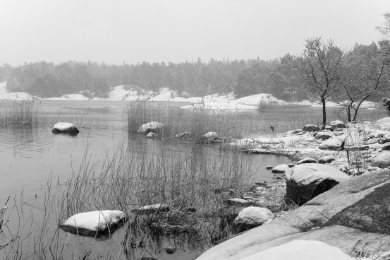 Vinter i Möjaarkipelagen, Stockholms skärgård