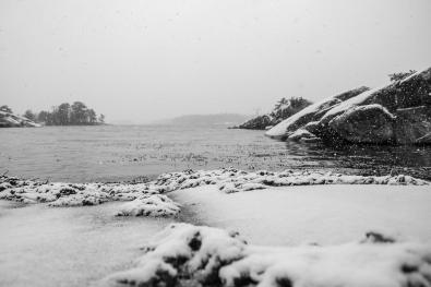 Vinter i Möjaarkipelagen, Kulans uddar, Stockholms skärgård