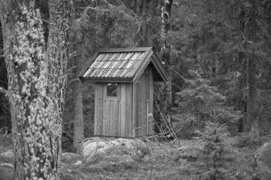 Utedasset på Kulansuddar, Möja naturreservat, Stockholms skärgård
