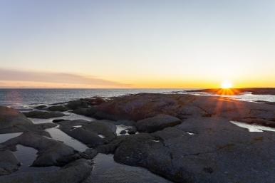 Solnedgång över Tärnskär, Stockholms skärgård