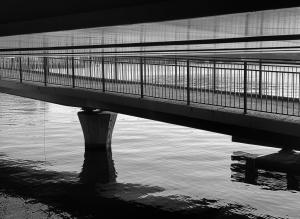 Beneath the Central Bridge, Stockholm city