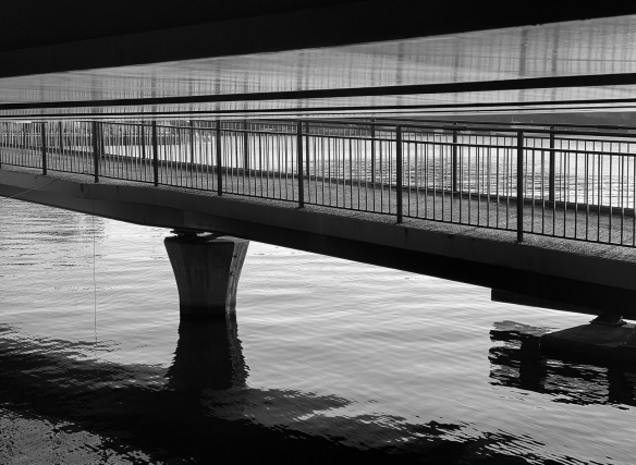 Beneath the Central Bridge, Stockholm city