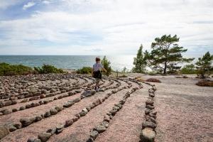 Labyrinten, Blå Jungfrun nationalpark