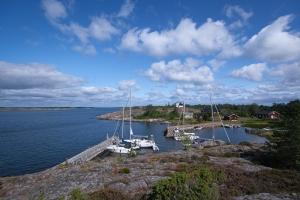 Hamnen på Häradsskär, Gryts skärgård