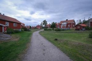Hus i byn på Harstena, Gryts skärgård