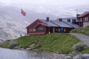 Rondvassbu hytte i Rondane nationalpark